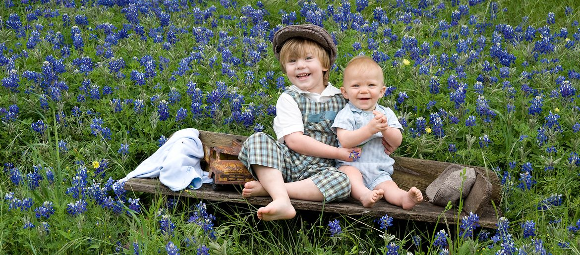 Blue Bonnet Portrait Photographer - Gail Nogle Photography