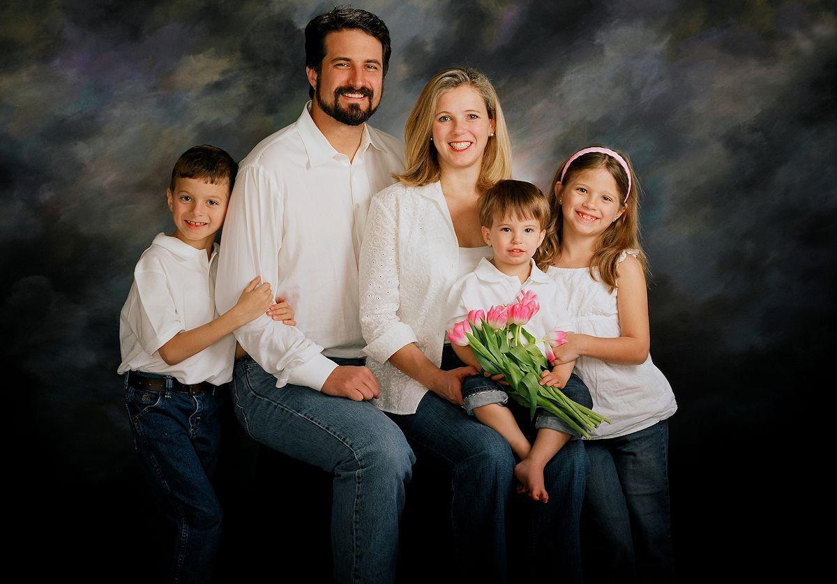 Family Portrait Photography- Family Portraits - Gail Nogle Photography